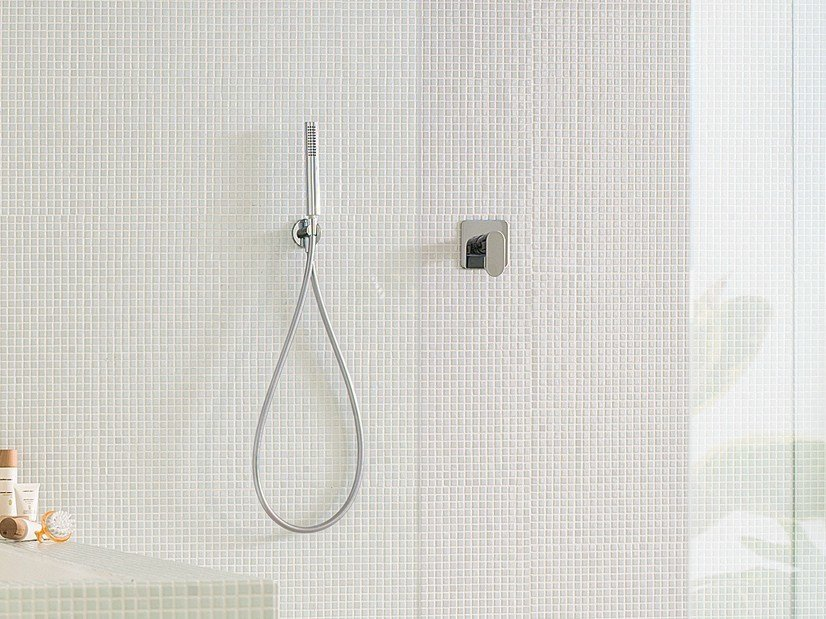 Chrome-plated shower mixer with diverter UP | Shower mixer by Nobili Rubinetterie