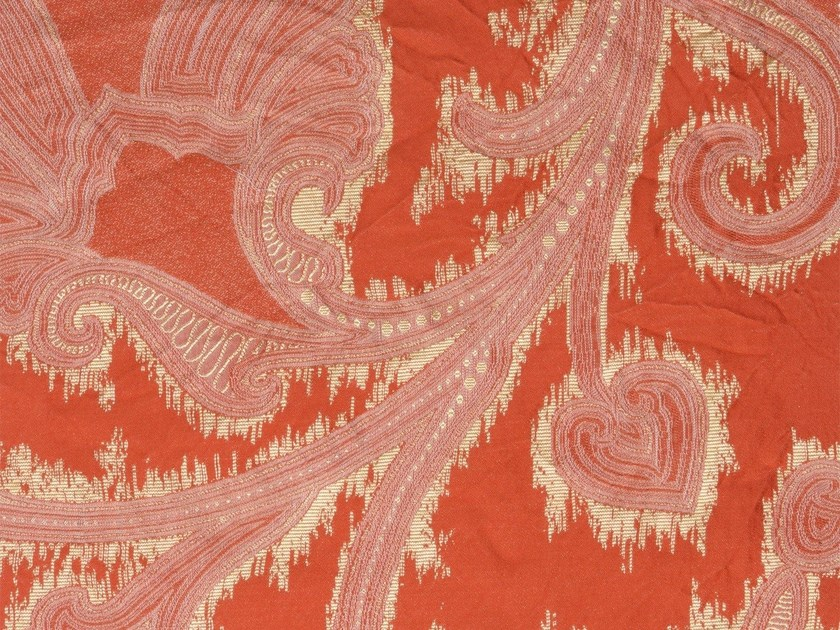Damask washable fabric PHARNA PAVILLION - KOHRO