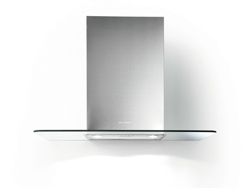 Wall-mounted Glass and Stainless Steel cooker hood PRESTIGE | Wall-mounted cooker hood - FABER