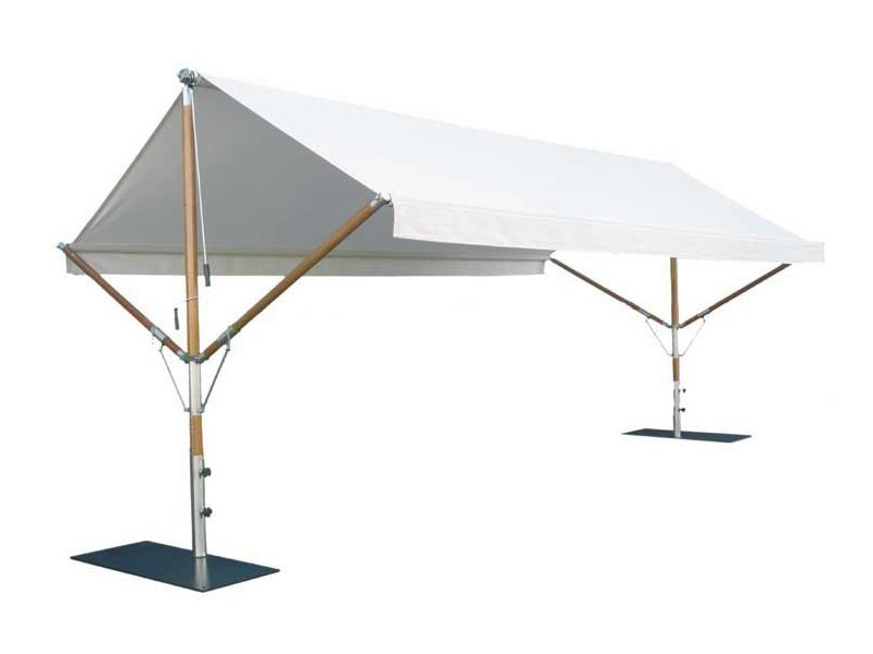 Freestanding awning BUTTERFLY - Tectona