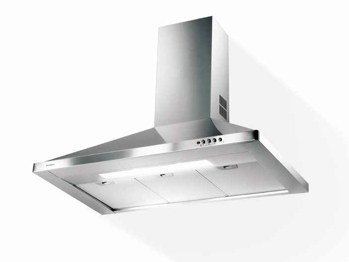 Wall-mounted stainless steel cooker hood STRIP - FABER