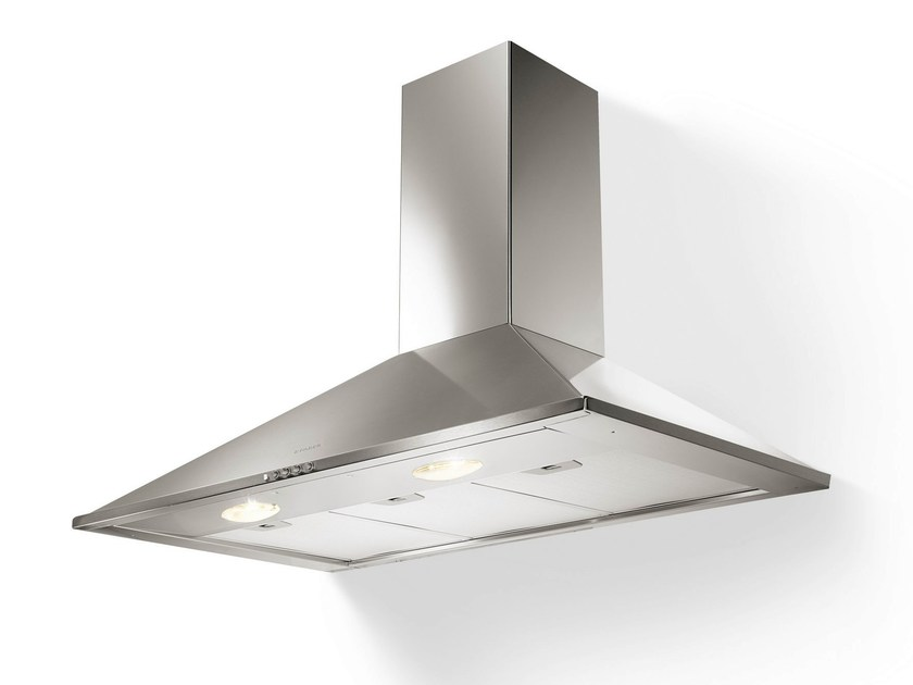 Wall-mounted stainless steel cooker hood SYNTHESIS - FABER