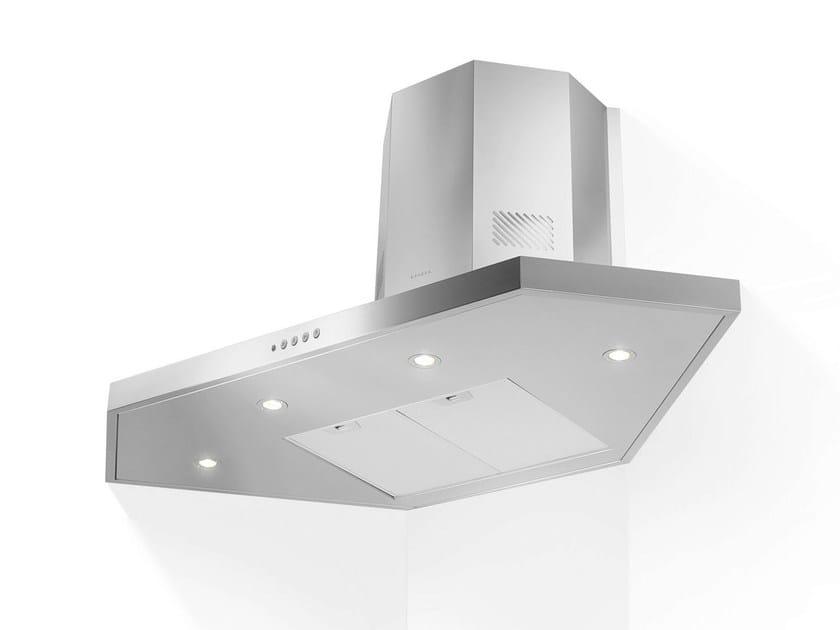 Corner stainless steel cooker hood STILO   Corner cooker hood - FABER