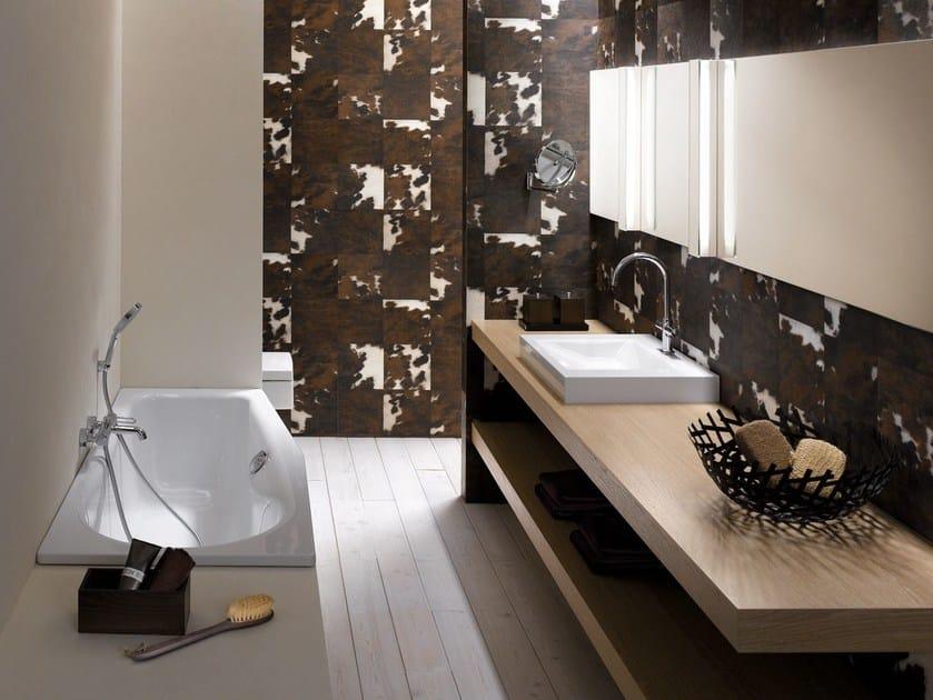 Asymmetric bathtub BETTELUNA - Bette