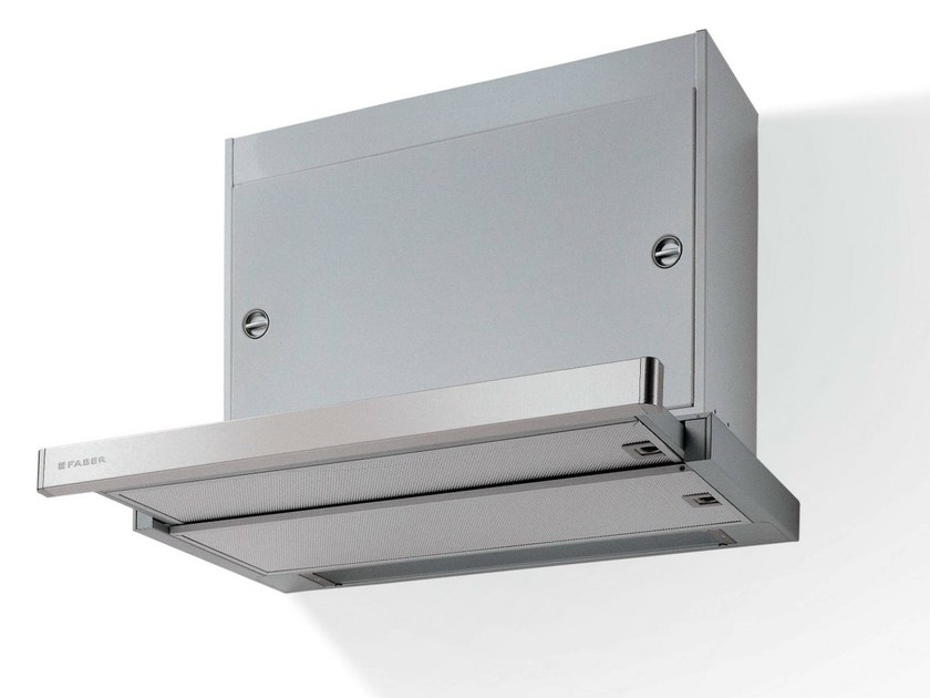 Slide-out built-in iron cooker hood OMNIA - FABER