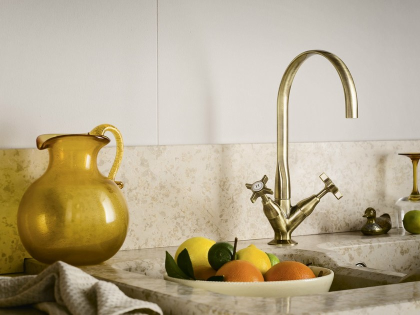 1 hole metal kitchen tap CARLOS PRIMERO | 1 hole kitchen tap - Carlo Nobili Rubinetterie