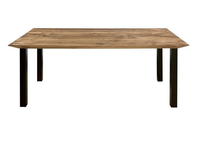 Rectangular wooden table ONDA - CP Parquet