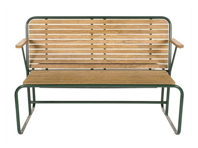 Teak players bench TENNIS | Teak players bench - Tectona