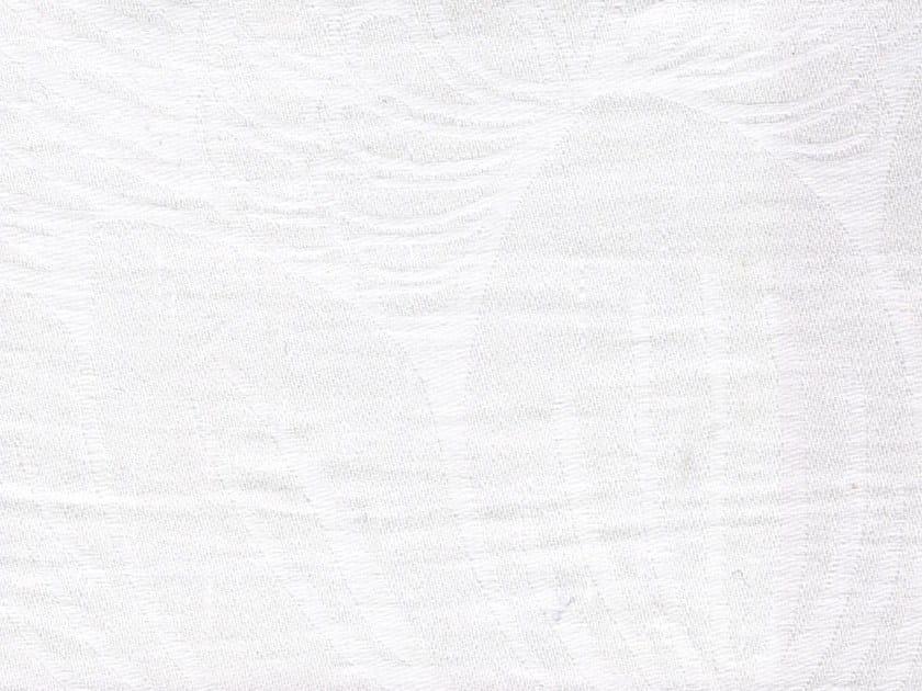 Jacquard washable linen fabric LUBERON - KOHRO