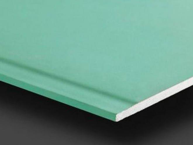 Fireproof moisture resistant gypsum ceiling tiles PregydroFlam BA15 - Siniat