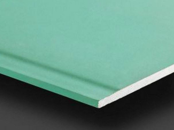Moisture resistant gypsum ceiling tiles Pregydro H2 BA15 by Siniat