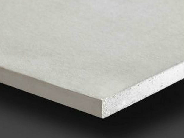Fireproof plasterboard ceiling tiles PregyFeu A1 BD25 - Siniat