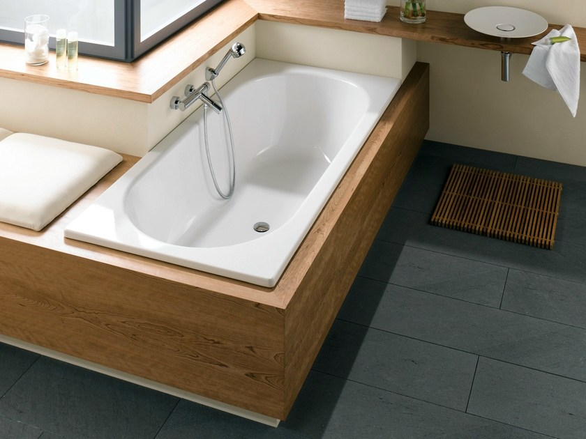 Vasca da bagno in acciaio smaltato da incasso bettestarlet bette - Vasche da bagno in acciaio smaltato ...