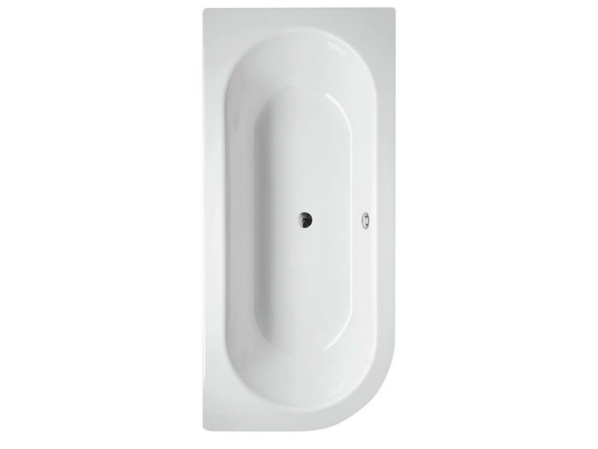 Built-in enamelled steel bathtub BETTESTARLET V - Bette