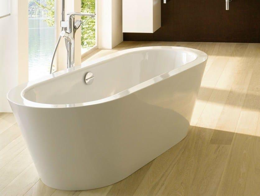 Vasca da bagno centro stanza ovale bettestarlet oval silhouette bette - Vasca da bagno ovale ...