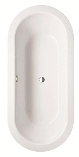 vasca da bagno centro stanza ovale bettestarlet oval. Black Bedroom Furniture Sets. Home Design Ideas