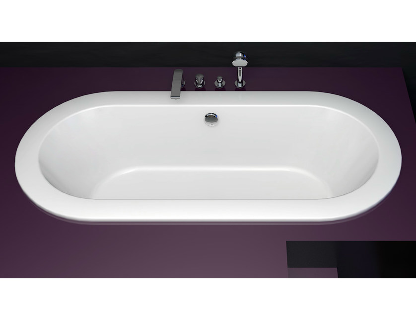 Baignoire encastrable bettestarlet oval by bette for Bette salle de bain