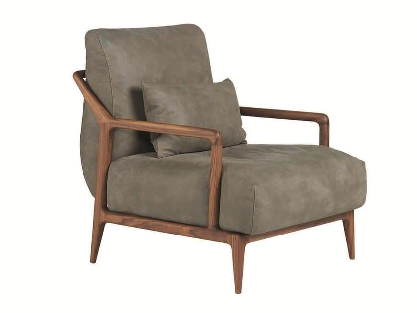 Armchair with armrests INDIGO | Armchair - SELVA
