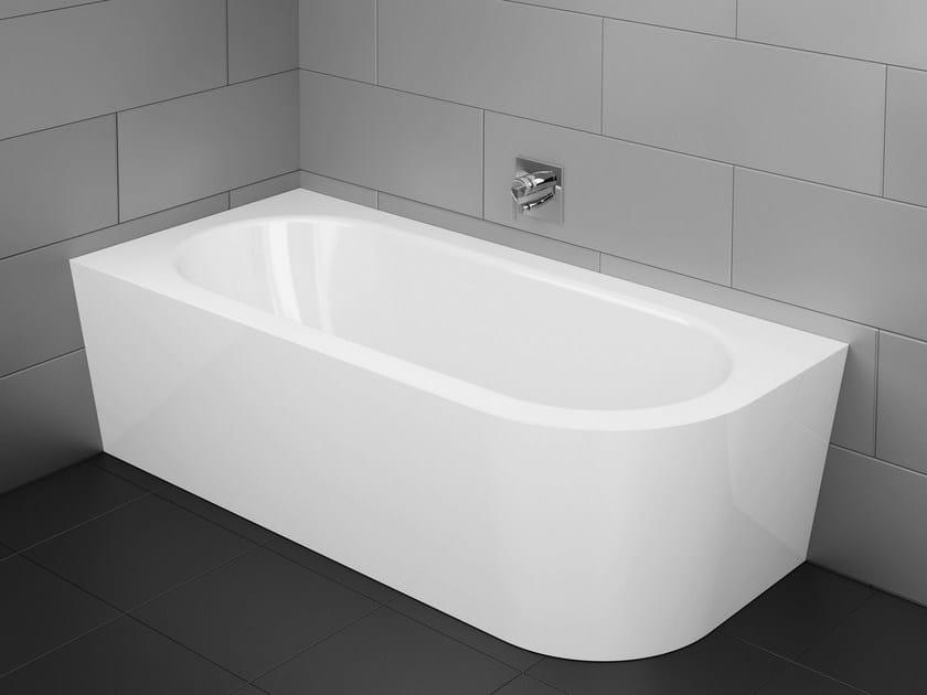 Vasca da bagno asimmetrica in acciaio smaltato bettestarlet iv silhouette by bette design - Vasche da bagno in acciaio smaltato ...