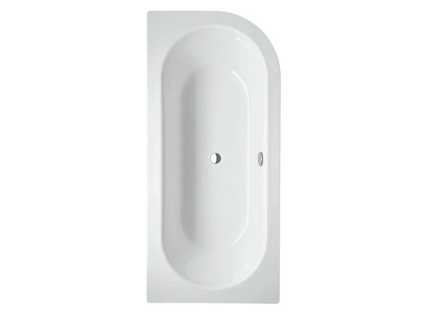 vasca da bagno asimmetrica in acciaio smaltato bettestarlet iv silhouette bette. Black Bedroom Furniture Sets. Home Design Ideas