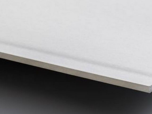Acoustic plasterboard ceiling tiles LaDura Plus BA15 - Siniat