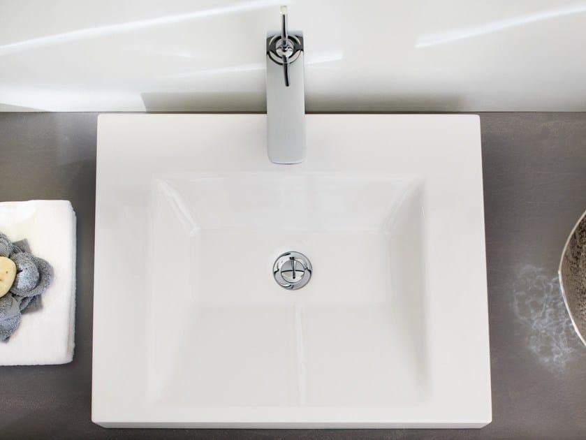 Countertop enamelled steel washbasin BETTEAQUA | Countertop washbasin - Bette