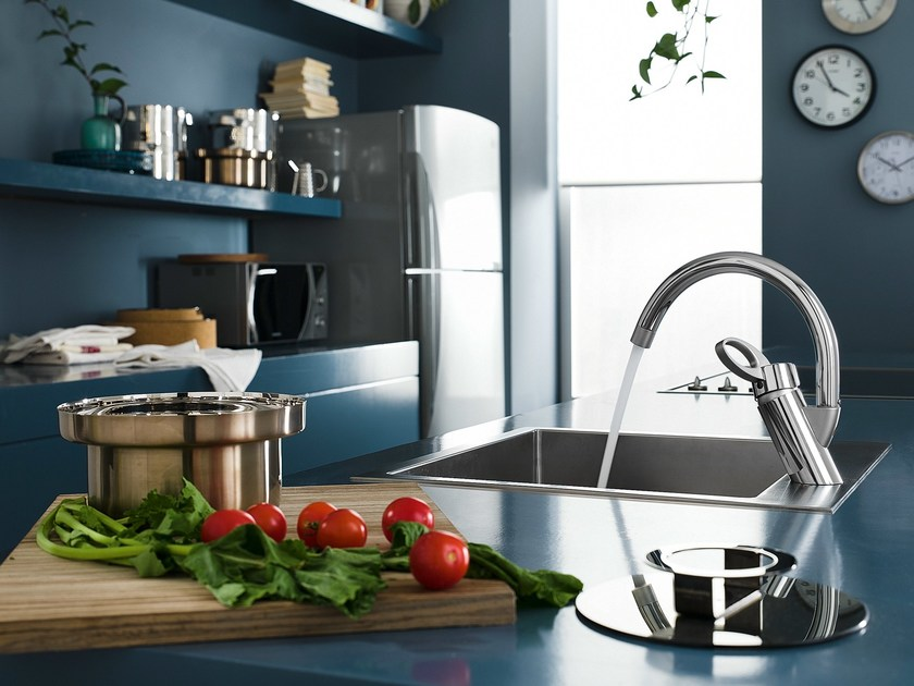 Countertop 1 hole kitchen mixer tap OZ | Kitchen mixer tap by Nobili Rubinetterie
