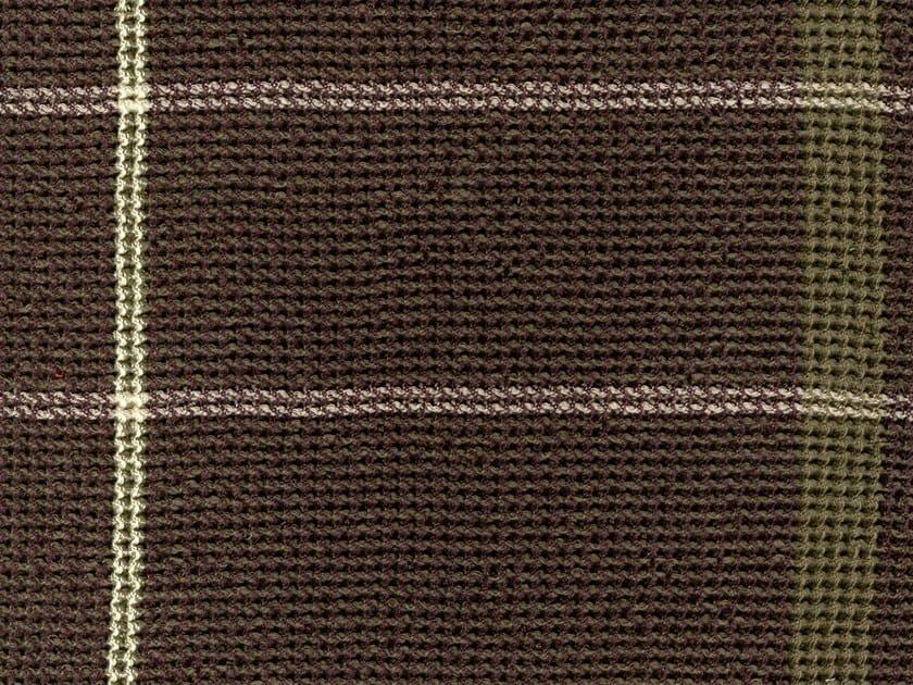 Striped jacquard washable cotton fabric BRADLEY by KOHRO