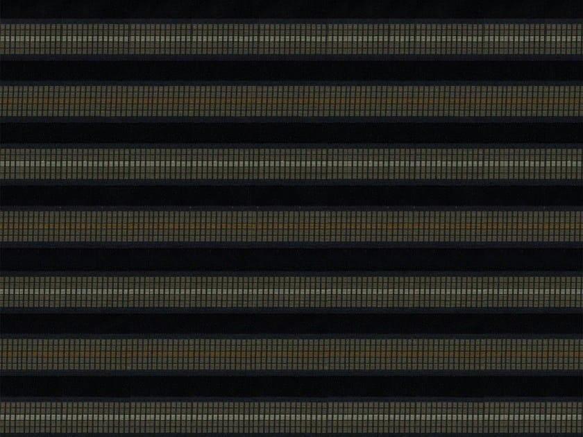 Striped washable cotton fabric AMTRAK - KOHRO