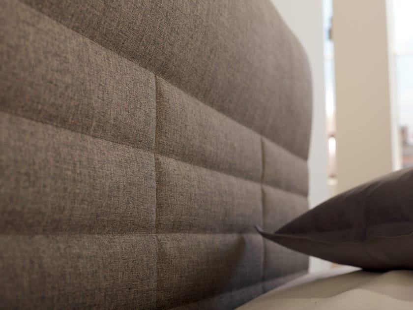 High upholstered fabric headboard BOXSPRING SUITE COMFORT | High headboard - Hülsta-Werke Hüls