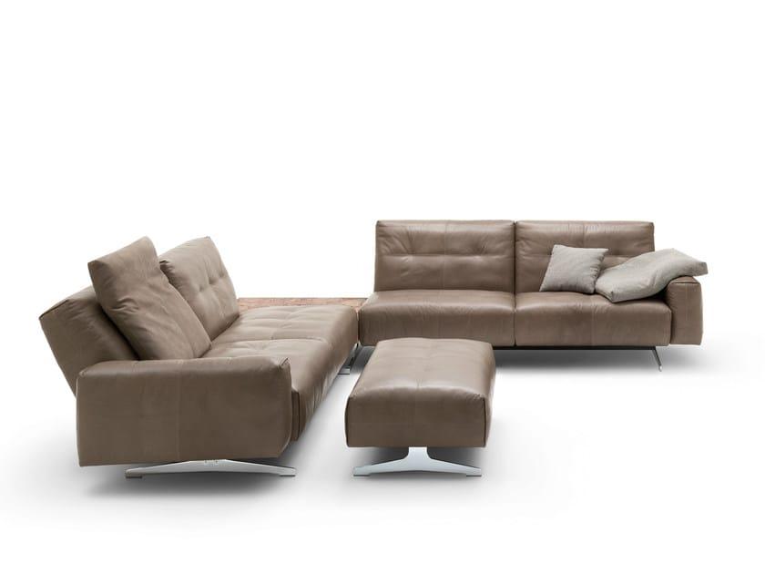 rolf benz 50 corner sofa by rolf benz design norbert beck. Black Bedroom Furniture Sets. Home Design Ideas