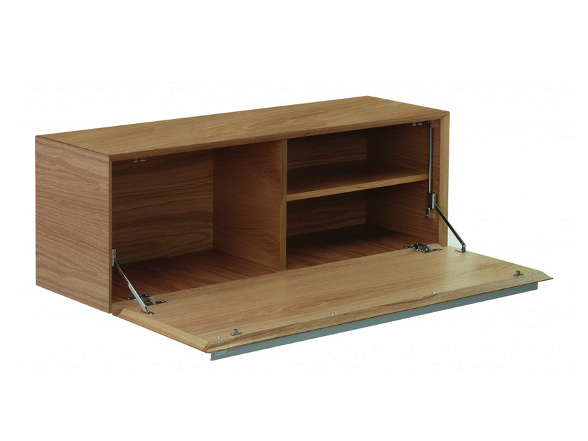 Wooden office storage unit ENJOY | Office storage unit - Abstracta