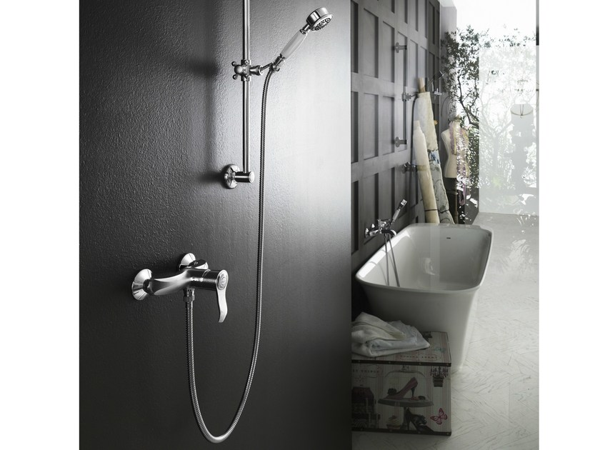 Single handle shower mixer SOFÌ | Chrome-plated shower mixer by Nobili Rubinetterie