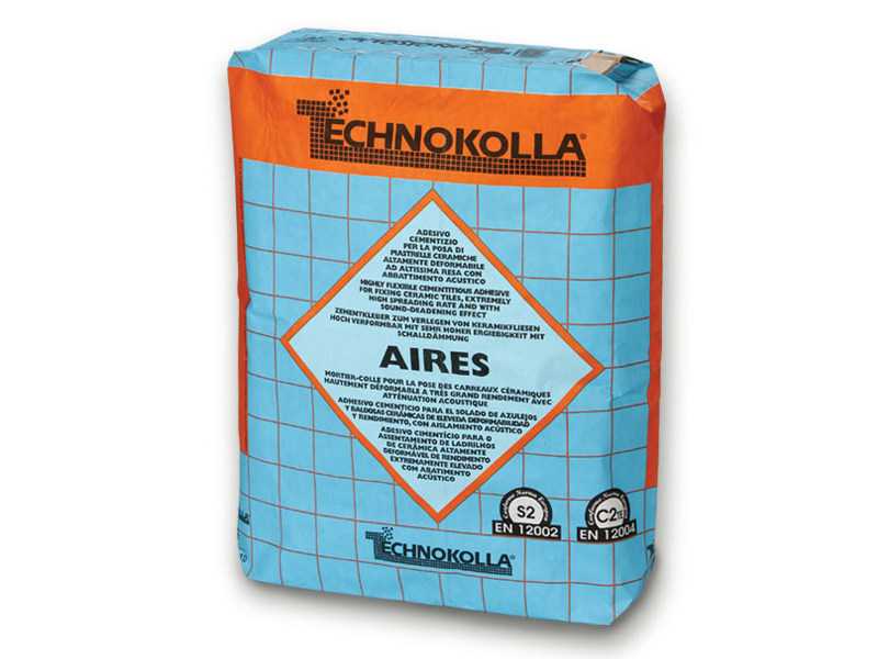 Cement-based glue AIRES by TECHNOKOLLA - Sika
