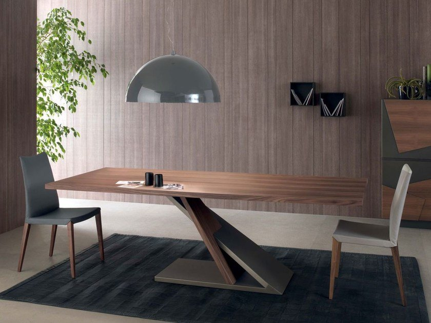 Rectangular wooden table JAVA | Table - ITALY DREAM DESIGN - Kallisté