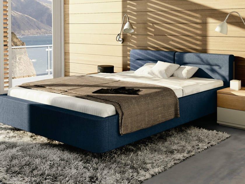gepolstertes doppelbett aus stoff kollektion mioletto ii by h lsta werke h ls. Black Bedroom Furniture Sets. Home Design Ideas