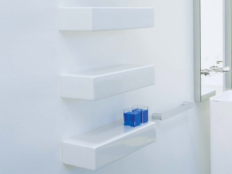 Design ceramic wall shelf BRICK | Ceramic wall shelf - CERAMICA FLAMINIA