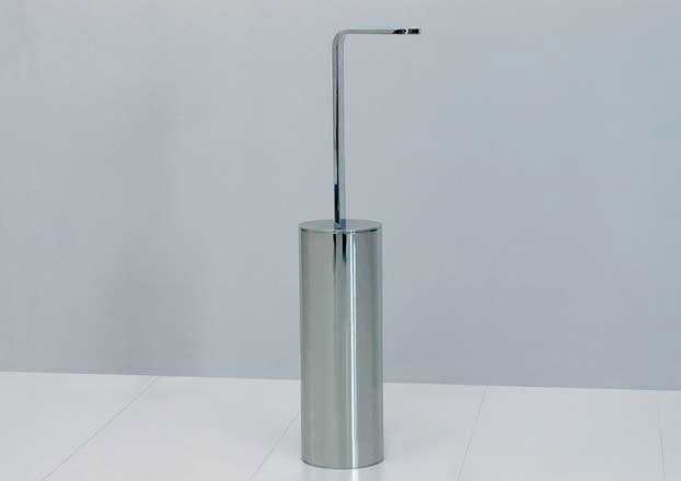 Chrome plated toilet brush TWO | Toilet brush - CERAMICA FLAMINIA