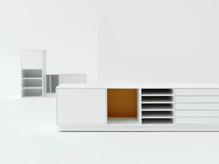 Lacquered sideboard with doors NO.5 | Sideboard - Abstracta
