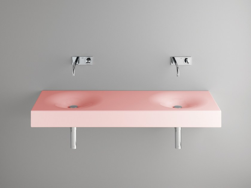 Double enamelled steel washbasin BETTEBOWL | Double washbasin - Bette