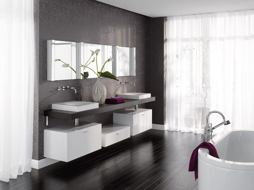 Bettebowl lavabo sobre encimera by bette dise o schmiddem for Lavabos cuadrados sobre encimera
