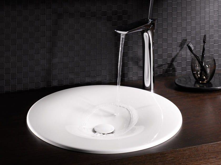Inset round single washbasin BETTEBOWL ROUND | Inset washbasin - Bette