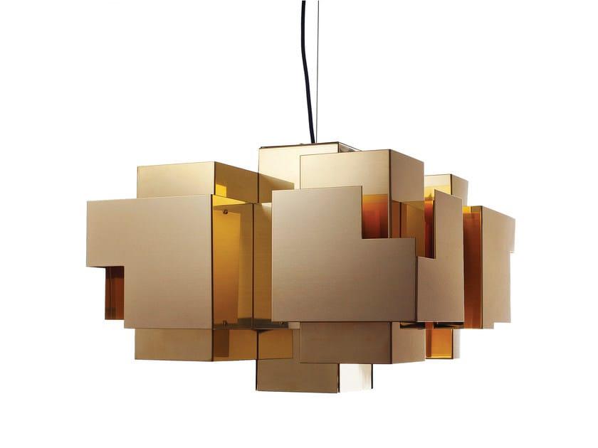 Brass pendant lamp SKYLINE | Pendant lamp - Örsjö Belysning