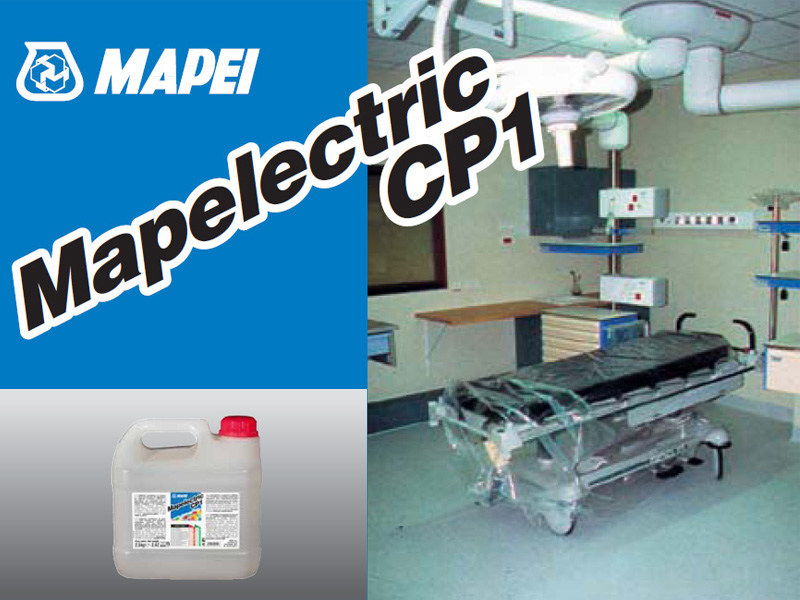 Additive for cement and concrete MAPELECTRIC CP1 - MAPEI