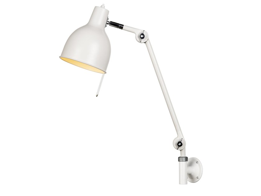 Adjustable enamelled metal wall lamp PJ72 - Örsjö Belysning