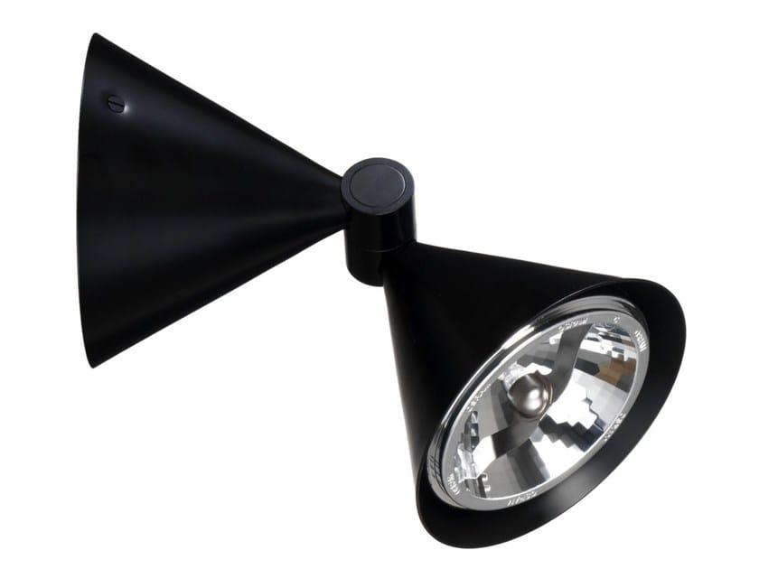 Wall-mounted adjustable enamelled metal spotlight SPOTLIGHT | Wall-mounted spotlight - Örsjö Belysning