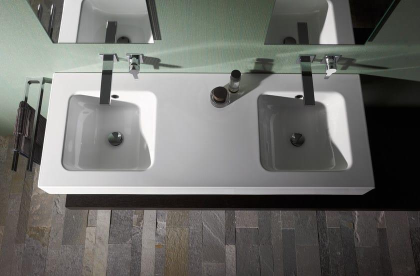 Double enamelled steel washbasin BETTEONE | Double washbasin - Bette