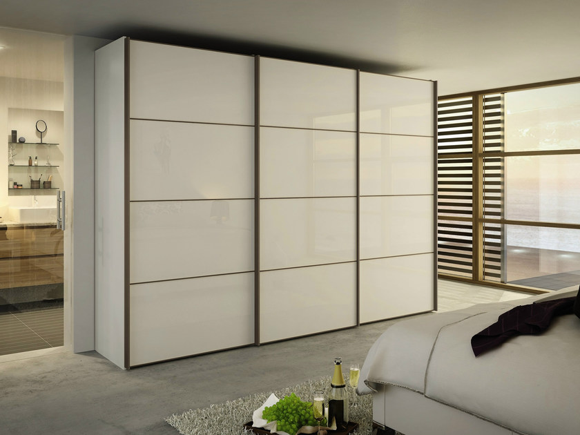 Lacquered wardrobe with sliding doors MULTI-FORMA II | Wardrobe with sliding doors - Hülsta-Werke Hüls