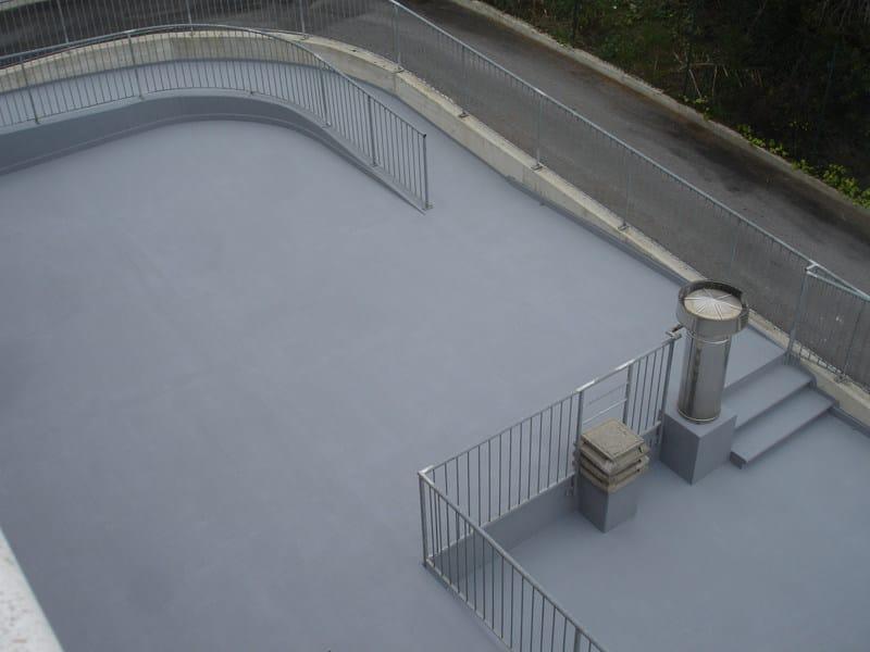 Synthetic material sports flooring FLOORGUM PAINT - DIASEN