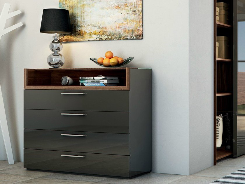 Lacquered chest of drawers MULTI-VARIS | Chest of drawers - Hülsta-Werke Hüls